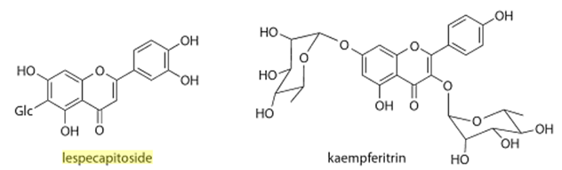 Chemical Structure Lespedeza
